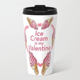 Ice Cream Valentine Travel Mug