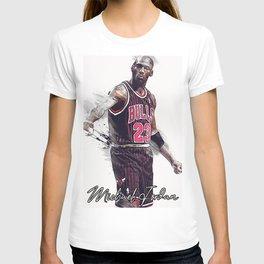 basketball player art 15 T-shirt