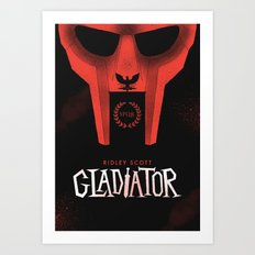 Gladiator Art Print