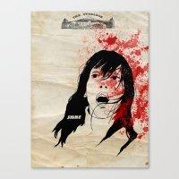 shining Canvas Prints featuring Shining by SeanAndOnAndOn