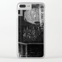 Silhouettes Mingle Clear iPhone Case