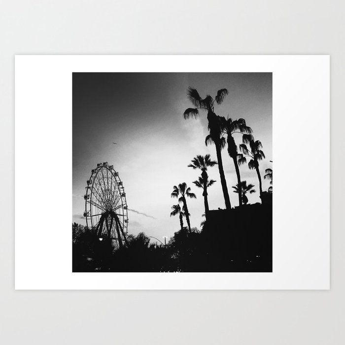 Palms Dream Art Print