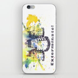 Daleks From Doctor Who iPhone Skin