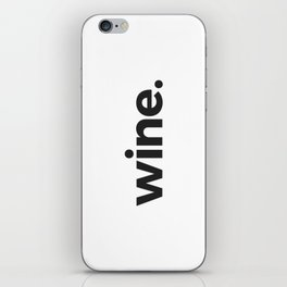 wine. iPhone Skin