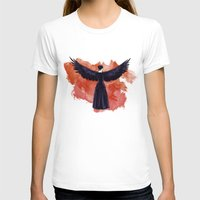 cyrilliart T-shirts featuring Mockingjay by Cyrilliart