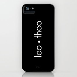 leo • theo iPhone Case