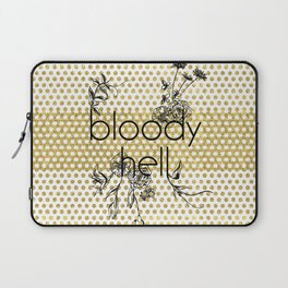 Bloody Dotty Hell Laptop Sleeve