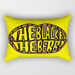 The Blacker the Berry Tribe called quest Rectangular Pillow