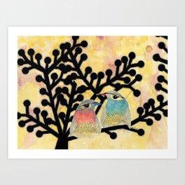 Pia and Armand Art Print