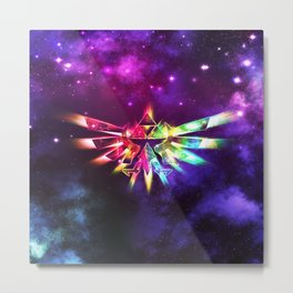 Triforce of Zelda Metal Print
