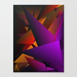 Smoke Screen Abstract 2 Canvas Print