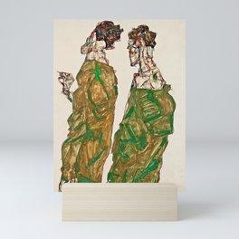 Egon Schiele - Devotion Mini Art Print