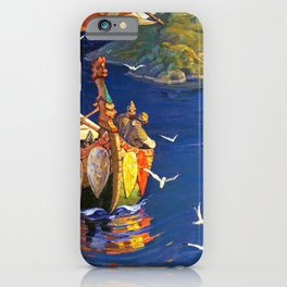 Nicholas Roerich - Guests From Overseas - Digital Remastered Edition iPhone Case