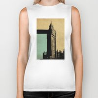 ben giles Biker Tanks featuring Big Ben by sinonelineman