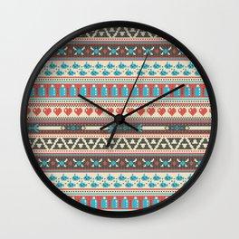 Fair-Hyle Knit Wall Clock