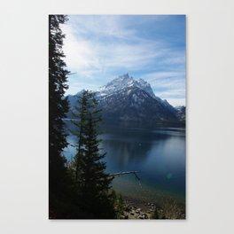 Jenny Lake/Tetons Canvas Print