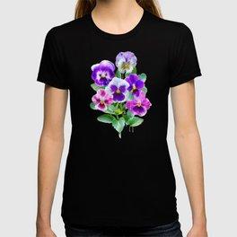 Bouquet of violets II T-shirt