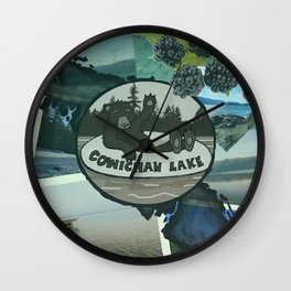 Cowichan Lake Wall Clock