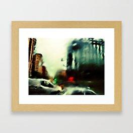 Buckets of Rain Framed Art Print
