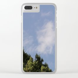 Two Levels of Earth Clear iPhone Case