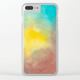 colours Clear iPhone Case