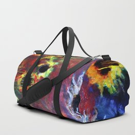 FIERY SUNS ABSTRACT DESIGN Duffle Bag