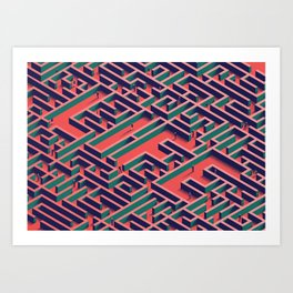 Making Your Way Art Print