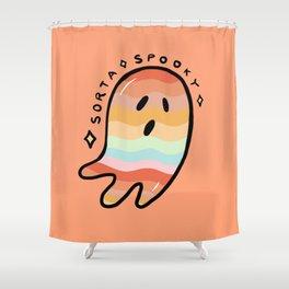 Rainbow Sorta Spooky © Shower Curtain