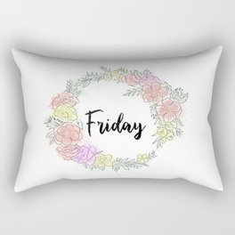 Friday fresh collection 2 Rectangular Pillow