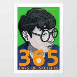 365 Days of Sketches #130 Art Print
