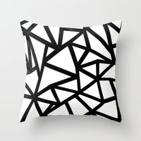 Ab Out Thicker B Throw Pillow