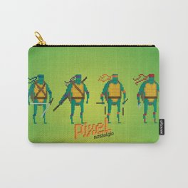 Ninja Turtles - Pixel Nostalgia Carry-All Pouch