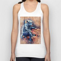 taurus Tank Tops featuring Taurus by jbjart