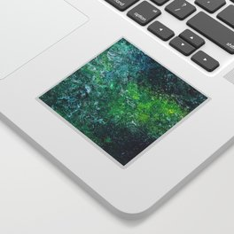 Color Fields: Mermaid Grotto Sticker
