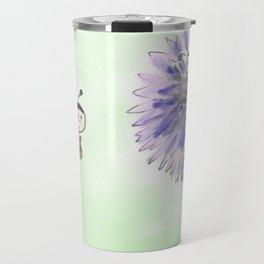 Marienkäfer flower Travel Mug