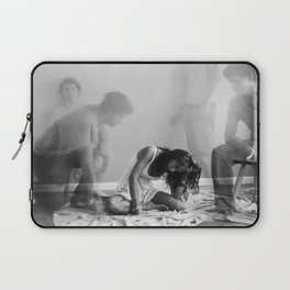 The Ghost that Broke a Heart Laptop Sleeve