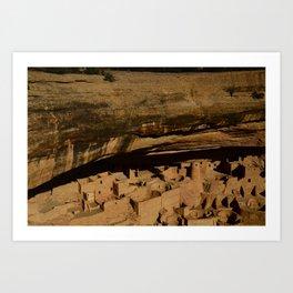 Cliff House - Mesa Verde National Park, Colorado Art Print