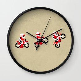 Excitebike Wall Clock