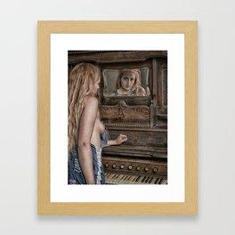 Mirror Image Framed Art Print