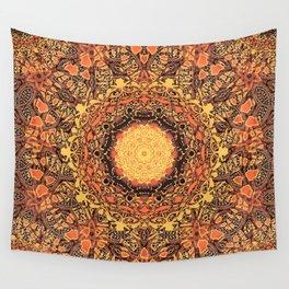 Marigold Mandala Wall Tapestry