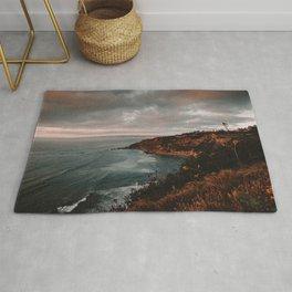 California Coastline Sunset II Rug
