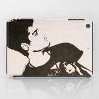 zayn malik iPad Cases featuring Zayn Malik by farwasart