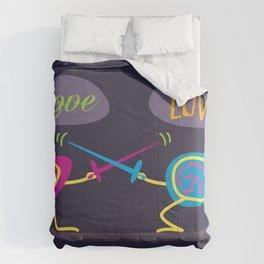Love is a Battlefield Comforters