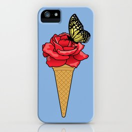 Butterfly Ice Cream iPhone Case