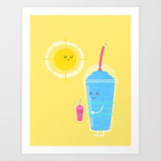 Cool Treat to Beat the Heat Art Print