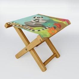 Babies on Backs Folding Stool