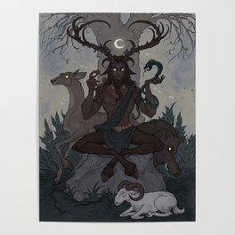 Cernunnos Poster