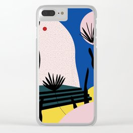 Athens Clear iPhone Case