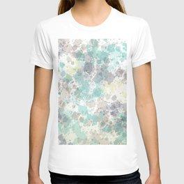 Spotty watercolor design T-shirt
