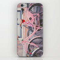 bike iPhone & iPod Skins featuring Bike by Hello Twiggs